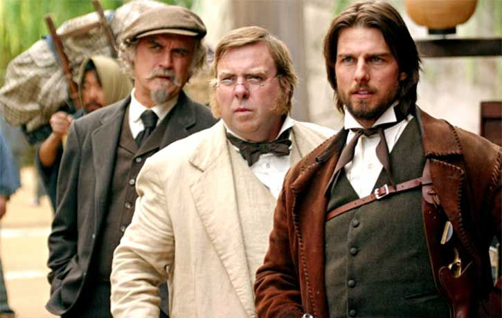Billy Connolly Timothy Spall and Tom Cruise