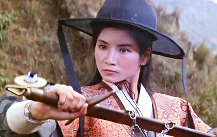 Cheng Pei Pei stars as Golden Swallow