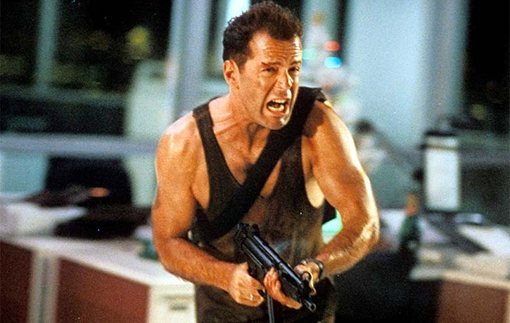 Die Hard is an all time action classic thats looked at