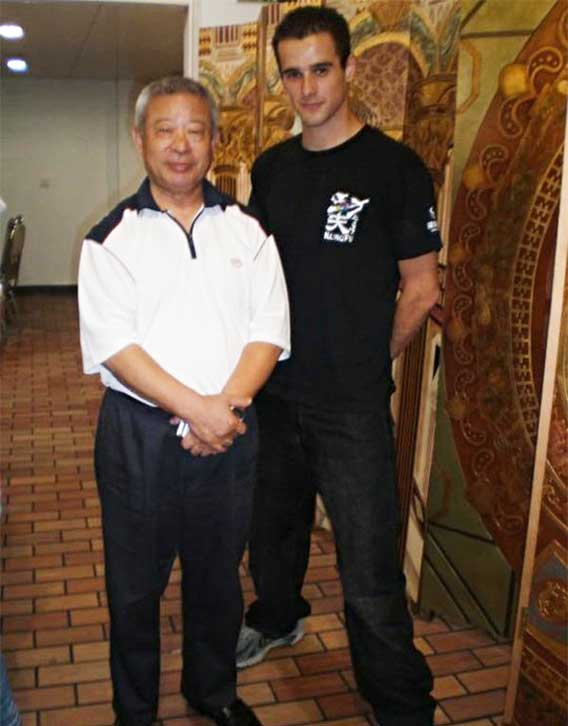 If you ever wondered who trained Jet Li thats Wu Bin