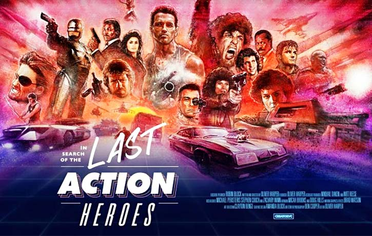 In Search of the Last Action Heroes film ad