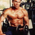 Olivier Gruner always stays in fighting shape