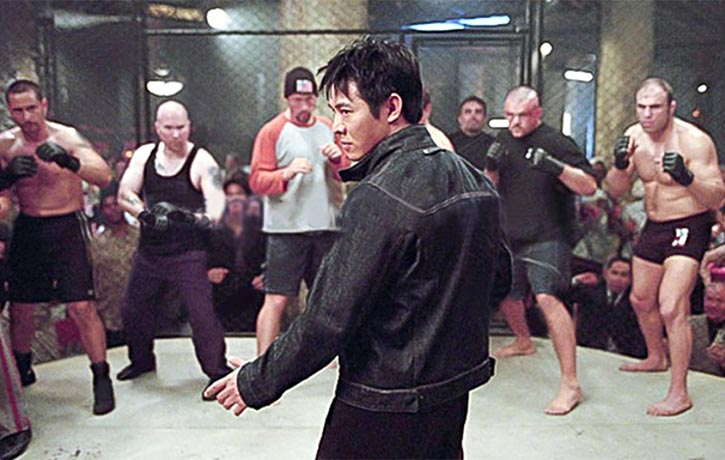 One of Randys early roles was as a cage fighter in 2003s Cradle 2 the Grave