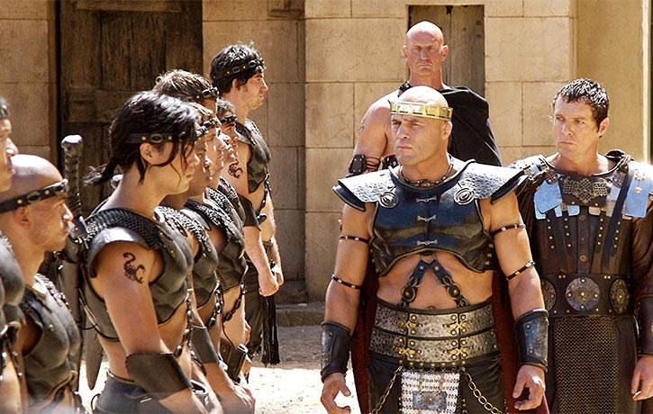 Randy assumed the throne of a villain in The Scorpion King 2