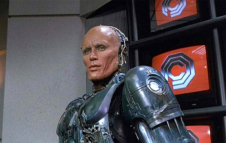 Sci fi classics like Robocop are talked about