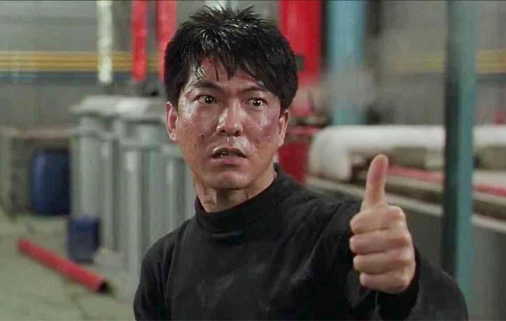 Yuen Biao plays Timothy Tung Tak-biao a crazy cat burglar