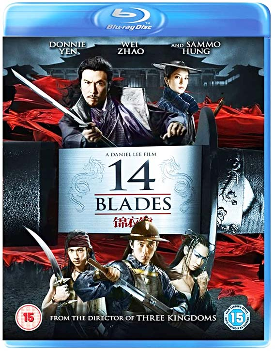 14 Blades -Blu-ray cover
