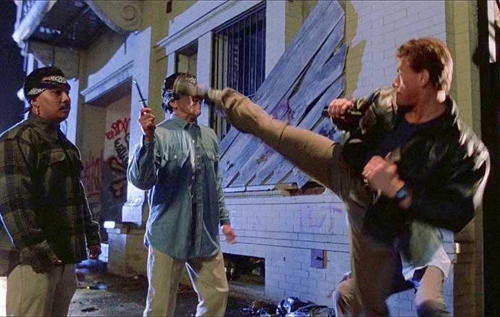 Burke kicks out the thugs