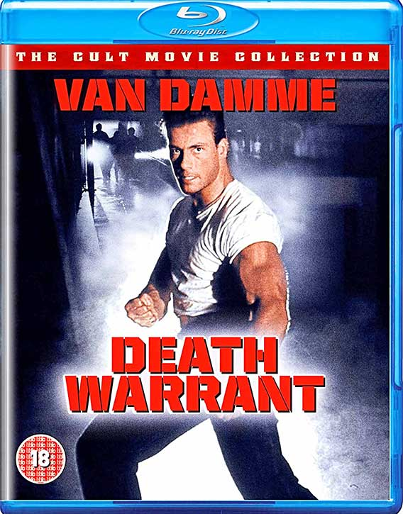 Death Warrant -Blu-ray cover
