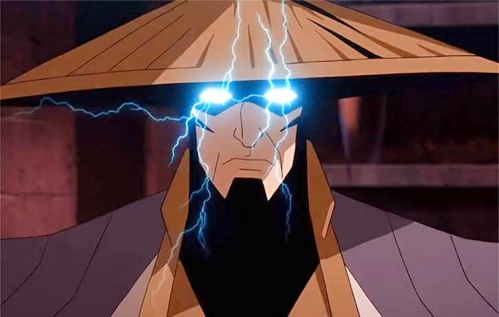 Lord Raiden brings the thunder as only he can