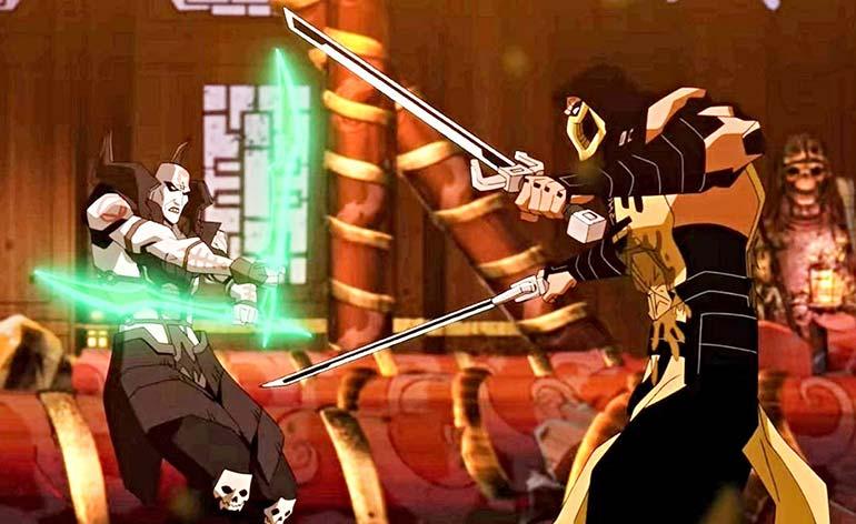 Mortal Kombat Legends- Scorpion's Revenge (2020) - Kung Fu Kingdom