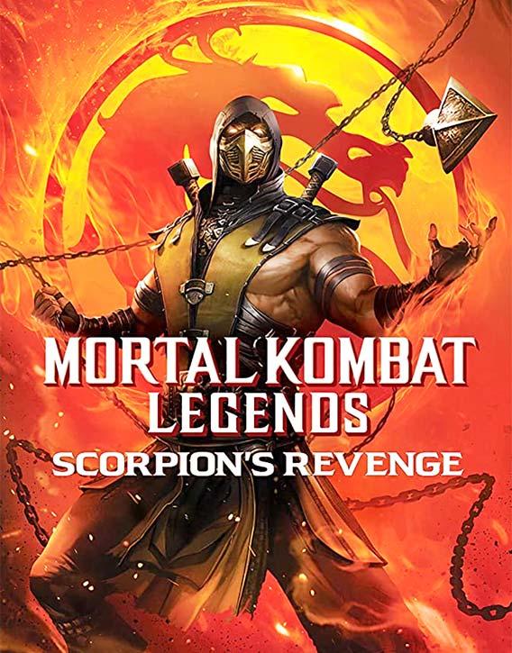 Mortal Kombat Legends -Scorpion's Revenge (2020) -film poster
