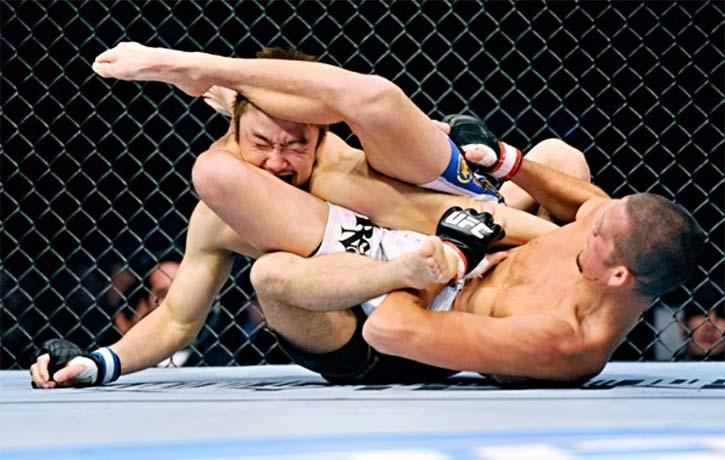 Nate Diaz vs Takanori Gomi -Kung Fu Kingdom