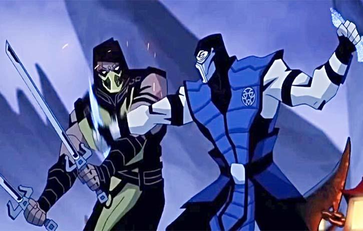 Scorpion is determined to get his revenge on Sub Zero