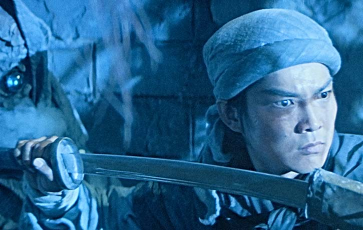 Yuen Biao leads us into the energetic action