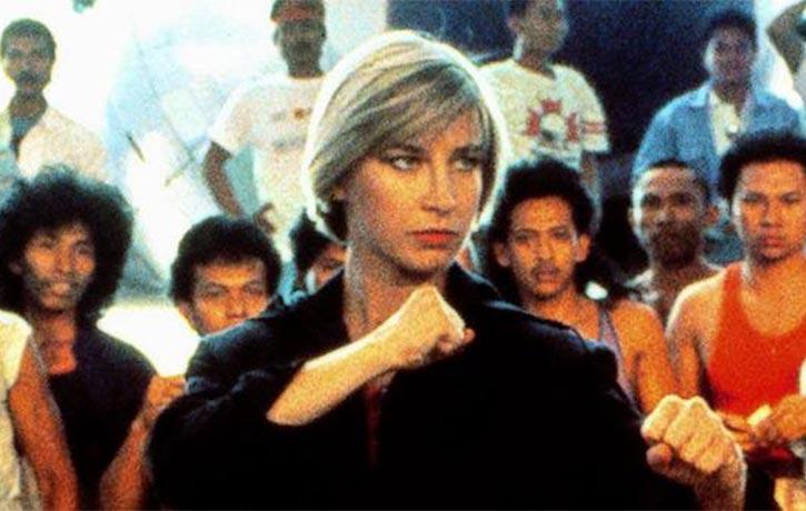 Cynthia Rothrock returns in Iron Fists and Kung Fu Kicks!