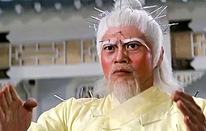 Director Lo Lieh stars as Priest White Lotus