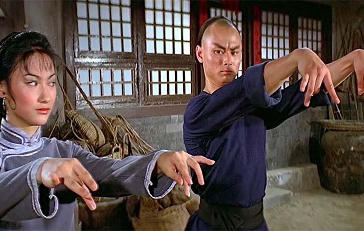 Gordon Lui and Kara Hui compare shapes