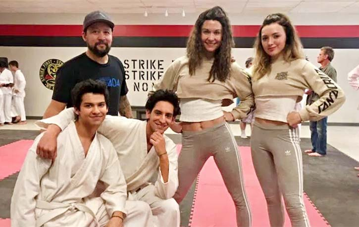 John worked with Hiro Koda and Jahnel Curfman on Cobra Kai