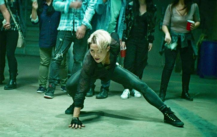 JuJu Chan of Wu Assassins appears in Iron Fists and Kung Fu Kicks