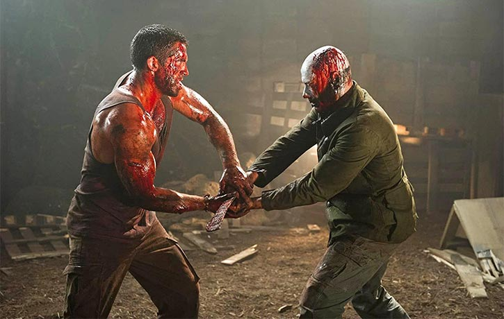 The great Scott Adkins appears in the movie