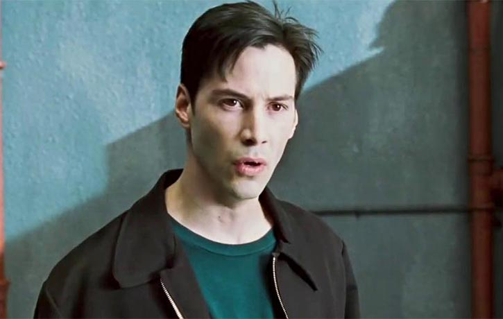 The movie doesn't neglect to touch upon the impact of The Matrix