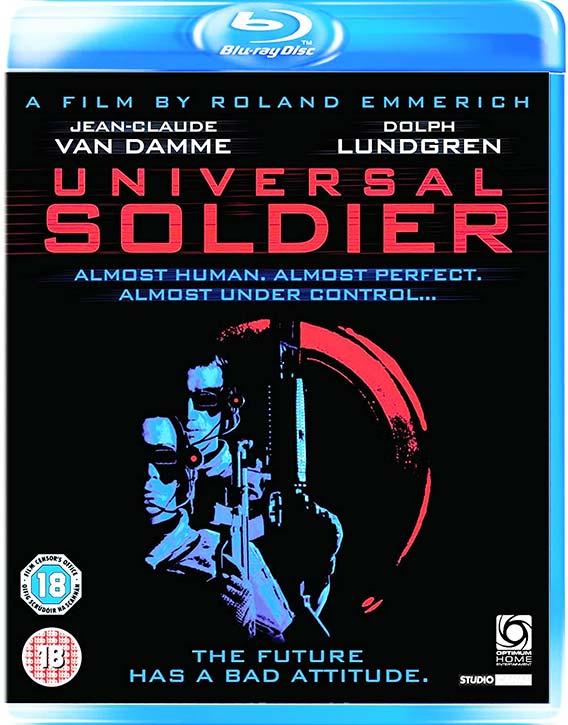 Universal Soldier -Blu-ray cover -front