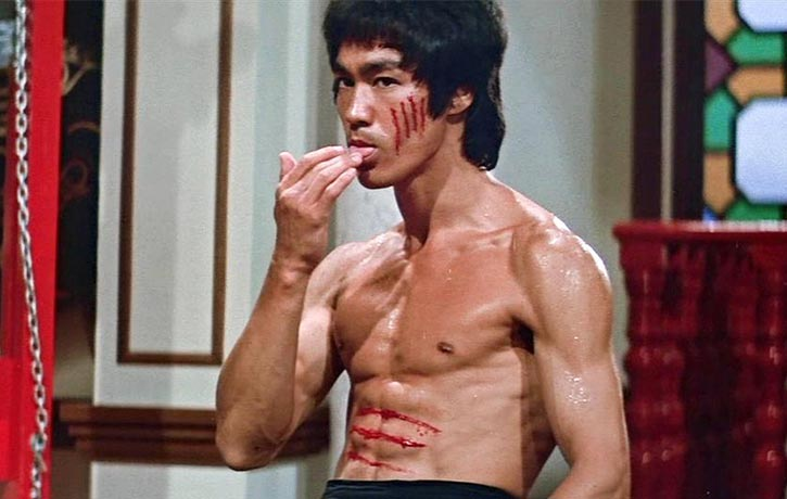 You can't make a martial arts documentary without talking about Bruce Lee!