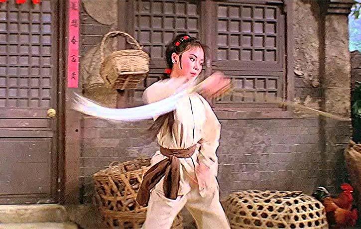 Yueng Ching Ching is a former wushu champion