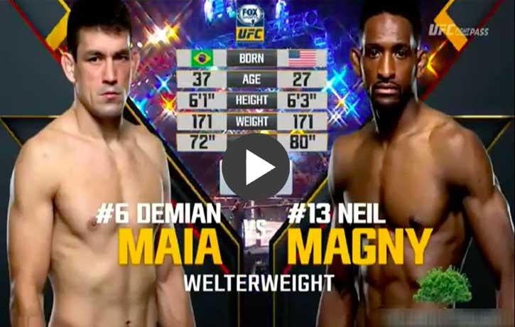 Vs. Neil Magny — UFC 190