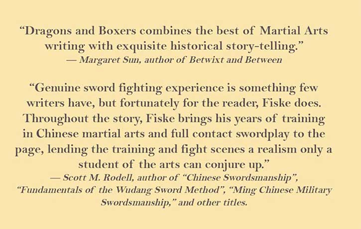 Dragons and Boxers -press reviews