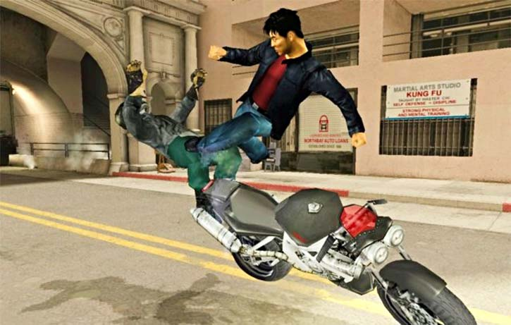 Kit zeroes in on motorbike thug