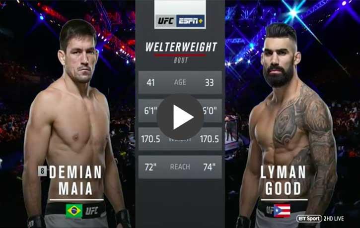 Vs. Lyman Good — UFC Fight Night 144