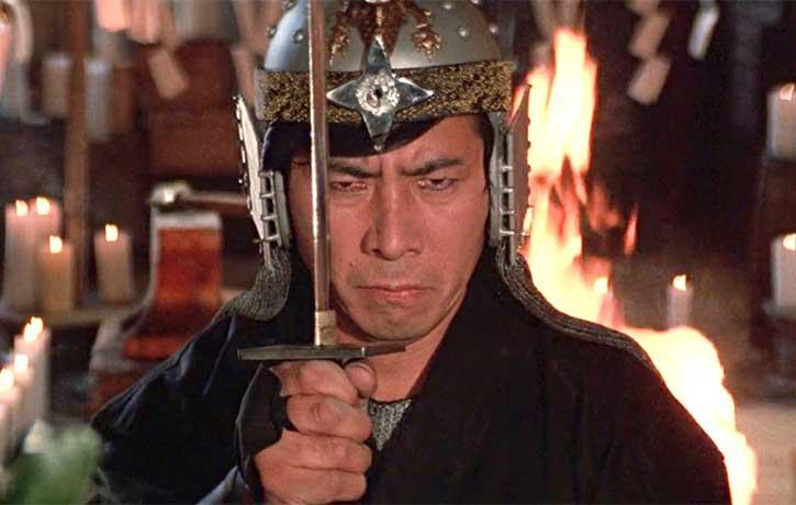 Akira mentally prepares himself for battle