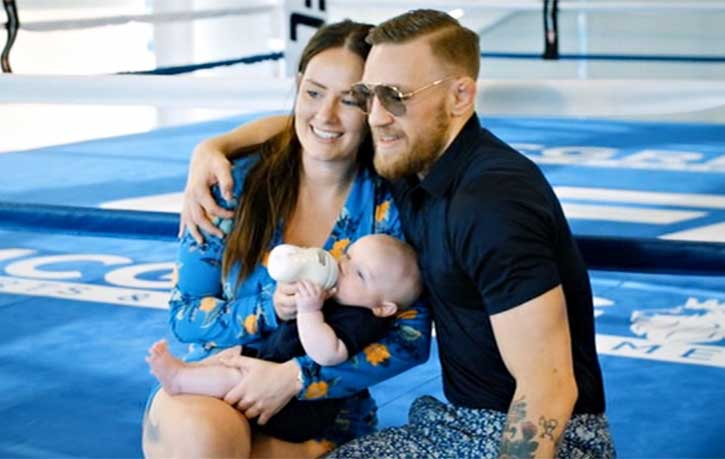 Conor and family