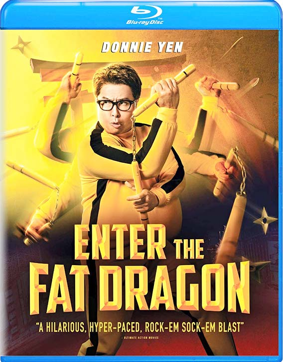 Enter the Fat Dragon (2020) -Blu-ray