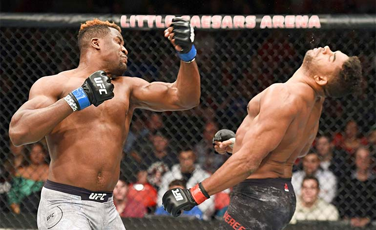 Francis Ngannou Top 5 MMA Finishes Kung Fu Kingdom 770x472