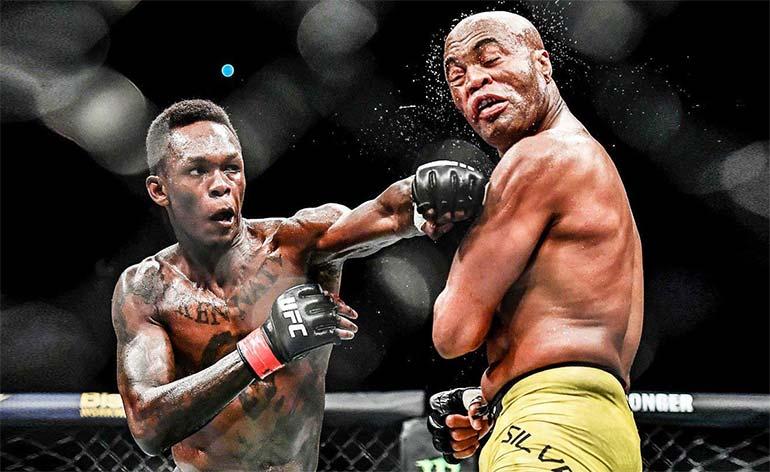 Israel Adesanya- Top 5 MMA Finishes - Kung Fu Kingdom