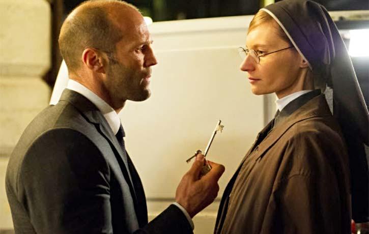 Joey with Sister Cristina a Polish nun