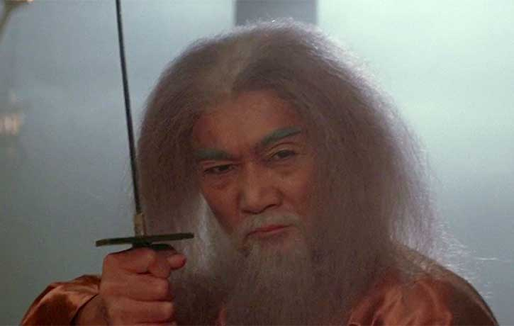 Koga plays Akira's master and adoptive father