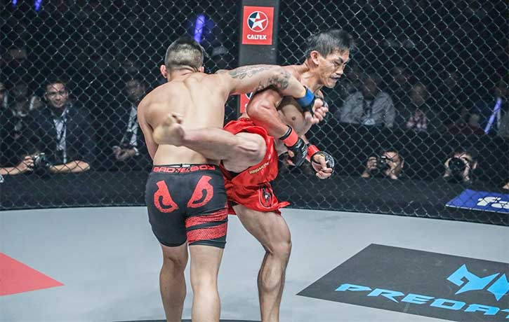 Martin Nguyen fighting Eduard Folayang for the lightweight title