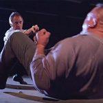Rhoades executes the deadly dim mak