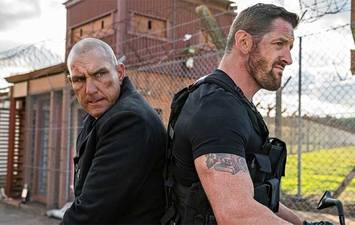 Stu Bennett takes Vinnie Jones for a ride