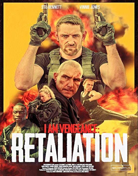 Vengeance 2 (2020) film poster