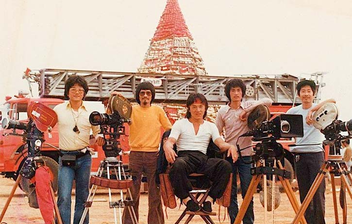 Directed by Jackie Chan the film opens with an astonishing set piece