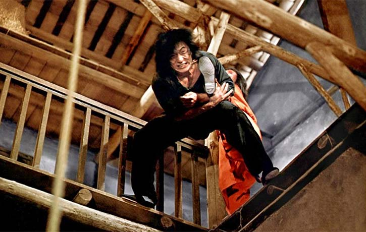 Jackie Chan vs Hwang In shik is an incredible fight scene