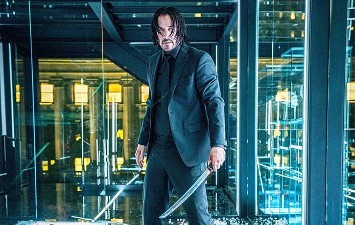 John Wick -Parabellum end fight