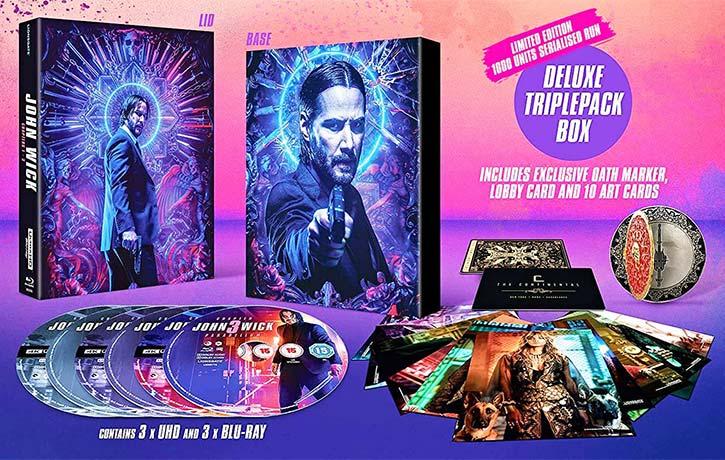 John Wick deluxe triple boxset -Kung Fu Kingdom