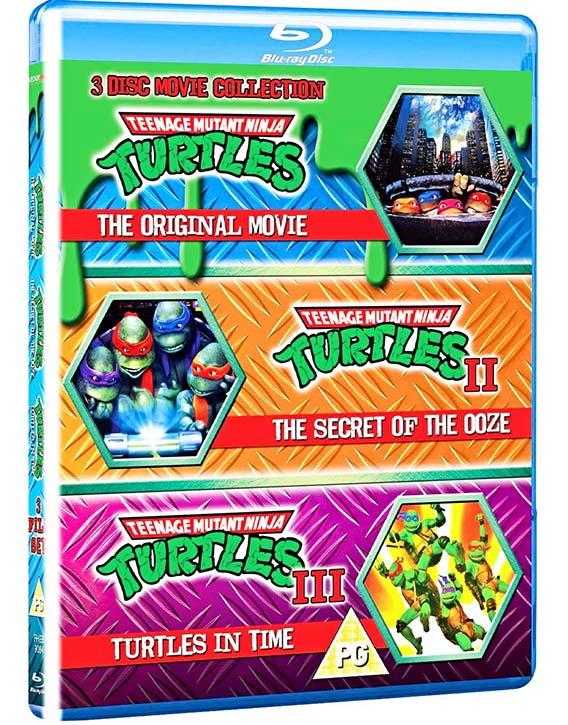 Ninja Turtles 3-pack -Blu-ray -Kung Fu Kingdom