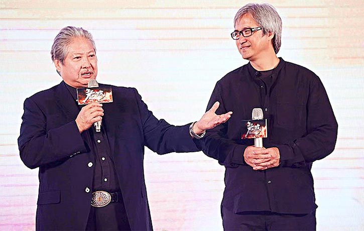 Sammo Hung worked with Benny Chan on Call of Heroes